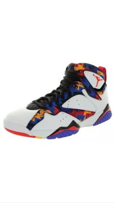 192eb944947f2f Nike Air Jordan Men s 7 Retro Basketball Shoe  Relive the glory days of MJ  and his cartoon friend in this lightweight and responsive shoe built for  the ...