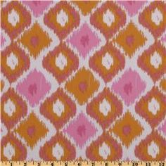 Annette Tatum Bohemian Ikat Diamond Pink  Item Number: ED-772  Our Price: $8.98 per Yard