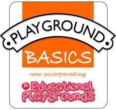 Playground Basics - Outdoor Signs to Inspire Young Minds : Playground Basics
