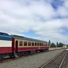 Blue sky already breaking through the clouds for the beautiful day ahead.  #WineTrain #NapaValleyWineTrain #NapaWineTrain #NapaTrain #Napa #NapaValley #California #train #trains #railroad #railway #luxury #vintage #antique #Pullman #VisitCA #VisitCalifornia #VisitNapaValley #travel #vacation #getaway #wanderlust #WineCountry #travelbreak #bluesky #clouds #railroad #railway #daily_crossing #trains_worldwide by winetrain
