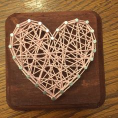 A personal favorite from my Etsy shop https://www.etsy.com/listing/465742741/made-to-order-miniature-heart-string-art