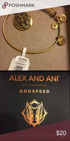 NWT Alex and Ani GODSPEED Bracelet NWT Alex and Ani GODSPEED Bracelet from Nordstrom. Given to me as a gift but it's not my style. In original box with tags and complete with Alex and Ani pamphlet of authenticity. GODSPEED is perfect for someone embarking on travel or blazing a new path in life. Alex And Ani Jewelry Bracelets