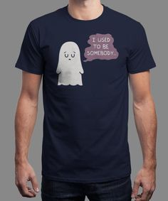 """""""I Used to Be Some Body"""" is today's £8/€10/$12 tee for 24 hours only on www.Qwertee.com Pin this for a chance to win a FREE TEE this weekend. Follow us on pinterest.com/qwertee for a second! Thanks:)"""