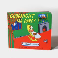 The Library Store Goodnight Mr. Darcy Board Book