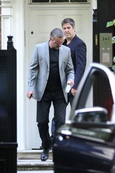 George Michael Photos - George Michael Goes to the Recording Studio - Zimbio