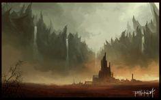solitary city by thatnickid.deviantart.com on @DeviantArt