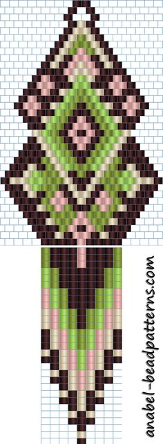Lots of patterns on this site Beaded Earrings Patterns, Peyote Patterns, Loom Patterns, Beading Patterns, Seed Bead Jewelry, Seed Bead Earrings, Motifs Perler, Native Beadwork, Seed Bead Tutorials