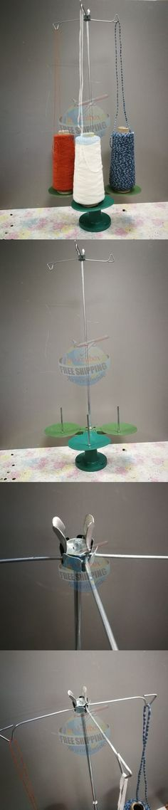 Machine Parts and Needles 146376: 3 Cone Holder Yarn Wool Stand Dispenser For Yarn Ball Winder -> BUY IT NOW ONLY: $45 on eBay!