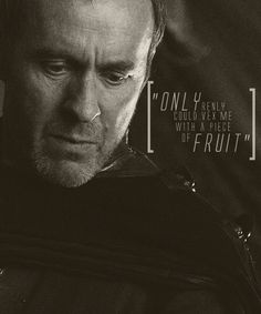 """The original pinner captioned this: """"Stannis Baratheon, the rightful king.""""  That may be true but I sure don't  like him."""