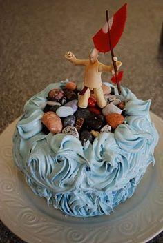 Aang cake!