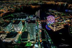 273mから横浜の夜景