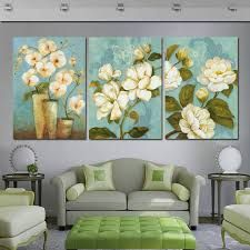 Time for daydreaming Hall Painting, 3 Piece Painting, Flower Painting Canvas, Living Room 2017, Living Room Green, Living Room Paint, Canvas Wall Decor, Home Decor Wall Art, Rajasthani Painting
