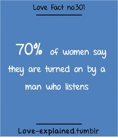 Love Facts : Love Fact of women say they are very turned on by a man who listens. - Women W Colleges For Psychology, Psychology Quotes, Psychology Today, Love Facts, Wtf Fun Facts, Awesome Facts, Random Facts, Fact Quotes, Love Quotes