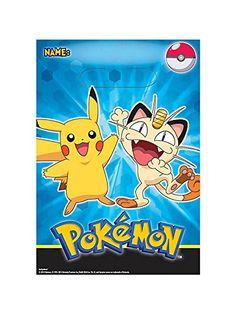 Pokemon Pikachu Loot Treat Bags 8 Count Discount Party Supplies and More http://www.amazon.com/dp/B00MNYIZ5S/ref=cm_sw_r_pi_dp_ye3Zub0ECD72C