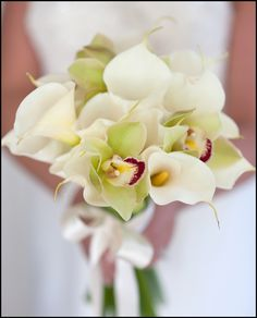 "A classy choice for any #wedding #bouquet, the #calla #lily represents ""magnificent #beauty"""