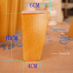 4 pcs  per Set  4'' 5'' 6'' Solid Wood Taper Sofa Legs Wardrobe Cabinet Chair Furniture Feet -in Furniture Legs from Furniture on Aliexpress.com   Alibaba Group