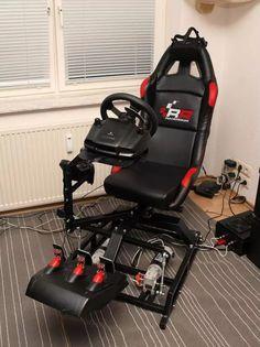 31 inspiring diy racing simulator cockpit images racing simulator rh pinterest com