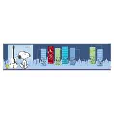 SNOOPY & WOODSTOCK~Bedtime Originals Hip Hop Snoopy Wallpaper