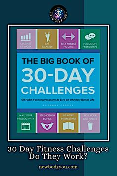 You've probably seen the 30 day fitness challenges all over social media. There's my least favorite, the 30-day burpee challenge where, I assume, you're doing lots of burpees. Click for full article. #fitness #fitnesschallenge #exercise #weightloss #losefat
