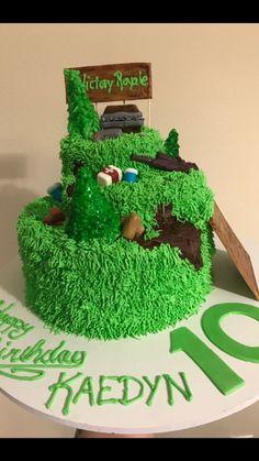 Fortnite cake decoration ideas