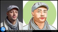 How To Turn Photo Into Vector In Photoshop