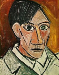 pablo picasso art history self portrait 25 Years Old (1907)
