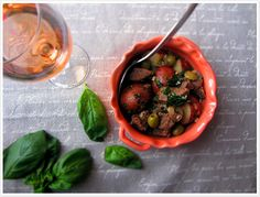 Provençal Lamb Stew with Basil