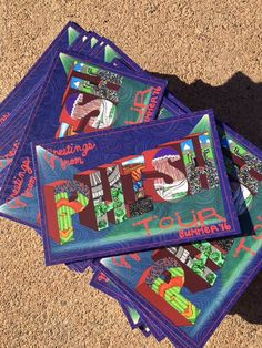 PHAN MAIL  Greetings from Phish Tour Summer '16 by NoomCaa on Etsy