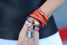 I love that Happy Bracelet in Orange. I have it in Black. Purple is next.