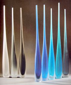 Vivarini Glass Collection are hand made by the master glass blowers of Formia Italia