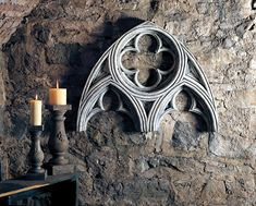 Gothic Architectural Arch Wall Piece/House & Garden Architectural Element {USA} : HenFeathers.com