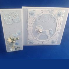 """""""Baby"""" Card  (Site: Marianne Design card gallery; card not found on main blog page)"""