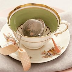 Perfect and elegant tea cup