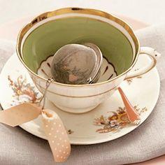 Perfect and elegant tea cup