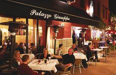 Restaurant - Palazzo Giuseppe - San Luis Obispo and Pismo Beach Coast Restaurant, Banquet Facilities, Pismo Beach, Central Coast, San Luis Obispo, Palazzo, Restaurants, Road Trip, California