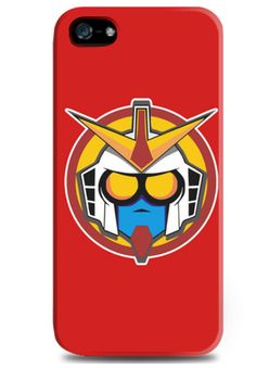 Gundam iPhone Case by 7day. Also available for iPhone, samsung galaxy S3, S4 and samsung galaxy note. http://www.zocko.com/z/JEgOU