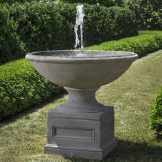 You'll love the Condotti Concrete Garden Terrace Fountain at Wayfair - Great Deals on all Outdoor products with Free Shipping on most stuff, even the big stuff.