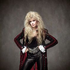 Memorial Tribute to Vixen founder and guitarist Jan Kuehnemund Bio By She Rox All Female Bands: If there is any band that really is the little engi. 80s Hair Metal, Hair Metal Bands, 80s Hair Bands, 80s Rock Fashion, Metal Fashion, Heavy Metal Girl, Heavy Metal Music, 80s Glam Rock, Rocker Girl