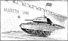 Caricature de Leslie Illingworth paru dans le Daily Mail le 19 mars 1943