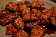 TGI Friday's copycat recipe for SESAME JACK CHICKEN STRIPS
