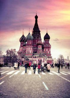 "visionsandvistas: """"Red Square - Moscow "" """