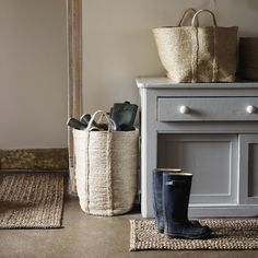 Large Jute Basket | The White Company