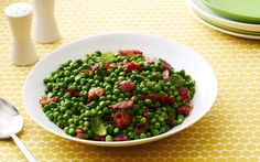 Herbed Peas with Bacon