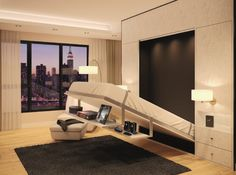 Murphy beds are perfect for small spaces - contact cutting edge panels about how to get one in your home!