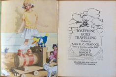 Josephine Goes Travelling Norman Rockwell, Travelling, Bridge, Author, Books, Pictures, Art, Photos, Art Background