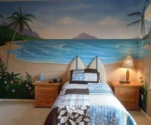 Surfboard Bedroom (for my boys!)