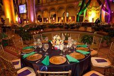 Gorgeous look & lighting at this chic venue! Great photo via #dchanningmuller #diy #rentmywedding #wedding #uplighting #diywedding #weddingideas #weddinginspiration #ideas #inspiration #celebration #weddingreception #party #weddingplanner #event #planning #dreamwedding