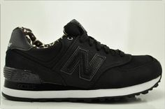 black NB with cheetah lining