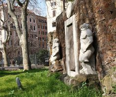 Porta Magica, Rome It's out in the open, but easy to overlook the mystery within Piazza Vittorio in Rome's Esquilino neighborhood. The Porta. Haunted Hotel, Haunted Places, Mysterious Places, Mount Rushmore, Traveling By Yourself, The Neighbourhood, Mystery, Places To Visit, Around The Worlds