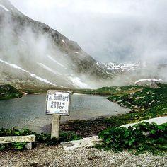 Gotthard Pass, Schweiz.